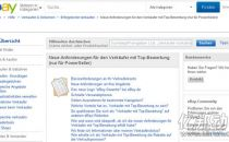 eBay出台德国站新规 限制物流供应商选项