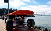 未来的电动滑板即将上市:用手柄控制速度