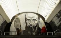莫斯科地铁变身经典文学电子图书馆