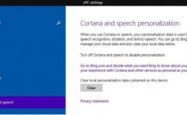 Win10版语音助手Cortana:注重保护个人隐私