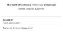 Android版Office Mobile应用新增Dropbox支持