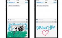 能用绘画代替文字聊天的iOS8应用
