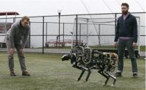 MIT工程师造猎豹机器 装电池可奔跑时速16千米