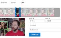 YouTube允许用户从视频制作GIF动态图