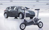 这是福特汽车设计的智能电动自行车