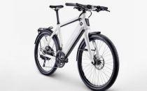 这辆智能自行车被偷后会自动上锁