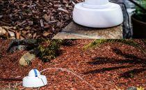 节水更便捷 智能喷水器为绿植定向浇灌