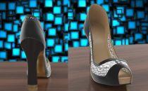 高跟鞋都智能了:根据衣服改变鞋子外观