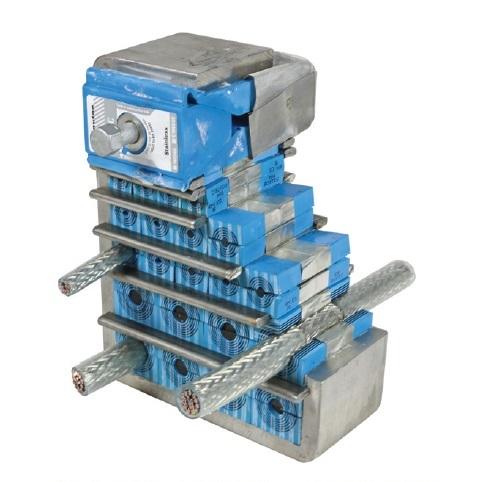 图1:烙克赛克S型框架配ES模块,用于电磁屏蔽