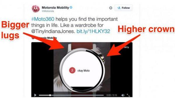 摩托罗拉新款智能手表隐现 搭载Android Wear