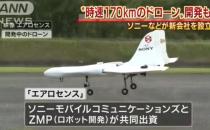 索尼开发航空型无人机 时速170公里