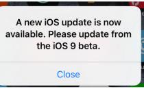 苹果也哦闹乌龙 部分用户收到假冒iOS 9推送