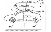 丰田新专利 带有可折叠飞翼的飞行汽车
