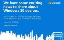 微软10月6日发布Win 10旗舰手机和平板