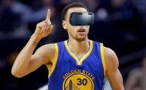 NBA推新服务 戴上VR眼镜体验场边观球新姿势