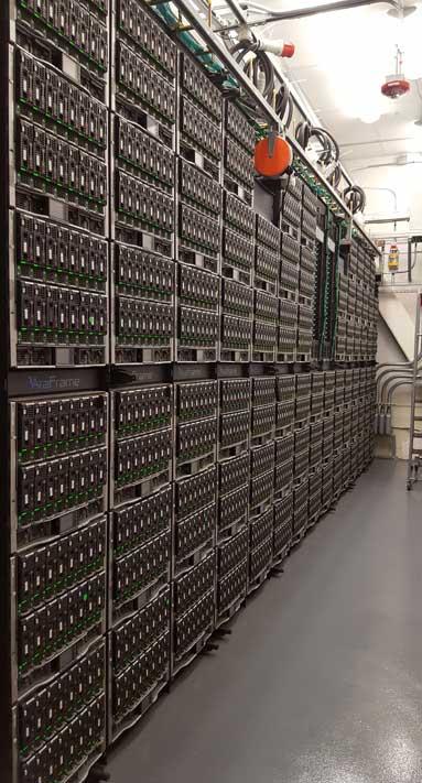 英特尔公司数据中心的能效设计达到新高度