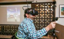 虚拟现实跑步机真实体验 能让全身充分动起来