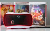 儿童专用VR眼镜体验 物美价廉的好玩具
