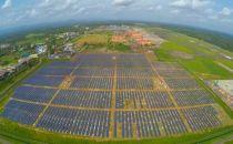 印度建成首座全太阳能供电机场 电费支出为零