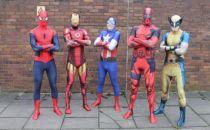 英国研发增强现实紧身衣将你打造成超级英雄