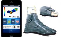 SenseGO:能保护糖尿病患者足部的智能电子袜