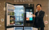 三星推超贵联网冰箱Family Hub 售价3.7万元
