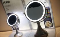 iHome发布新款蓝牙音箱 可充当化妆镜使用