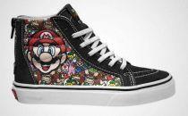 任天堂与Vans联手打造特别版主题运动鞋