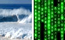 """如果说""""数据如水"""",你想到了什么?"""