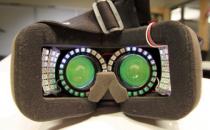 如何解决虚拟现实眩晕问题?头戴内可安装LED