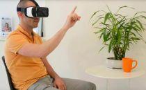 新型VR手势技术通过手机摄像头控制头戴器