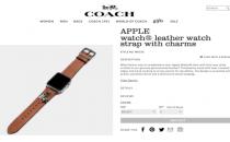 爱马仕版Apple Watch买不起?那Coach版呢?