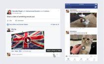 我们还只能发表情文字的时候,Facebook推出视频评论功能