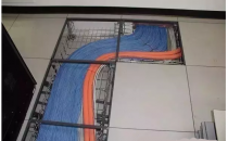 如何安装水平双绞线布线系统?
