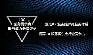 IDC服务提供商服务能力评估