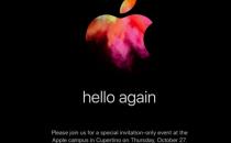 """苹果公布10月27发布会邀请函 新Mac""""又见面了"""""""