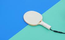 乒乓球也玩高科技 能随着打球节奏播放音乐