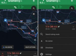 谷歌新地图界面样式曝光:易用性大增