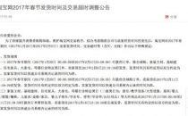 春节期间网购需要注意啦 淘宝网调整发货时间