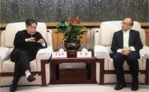 深圳市委书记许勤会见曙光董事长李国杰一行