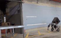 机器人乔丹?波士顿轮式机器人Handle又一次震惊世界