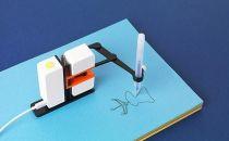 可编译的小型绘画机器人,把创作从屏幕挪到纸上