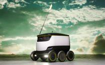 这个机器人这么可爱,你不多点几次外卖让它送?