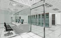 天花板装修工程中温湿度记录仪对机房建设很重要