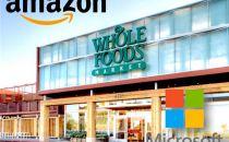 亚马逊成微软Azure云服务大客户 只因收购一家超市