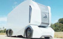 瑞典推出无驾驶室的电动卡车 自动驾驶该是这样子
