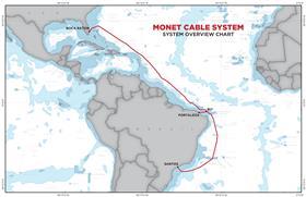连接佛罗里达和巴西的Monet海底电缆即将开通