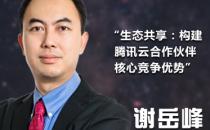 【IDCC2017】腾讯云谢岳峰揭秘云生态合作伙伴策略