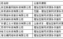 工信部颁发2018年首批云服务、CDN牌照 奇虎360、睿江云等上榜