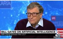"""比尔·盖茨:我不认为中国AI能弯道超车 李开复""""隔空论战"""""""